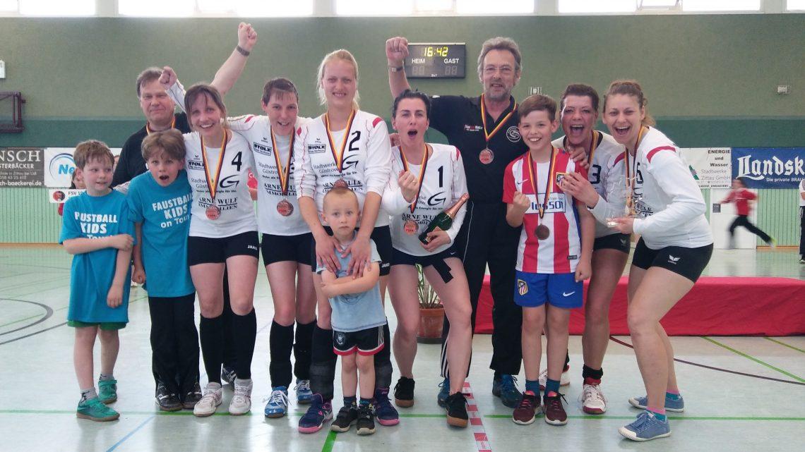 DM Bernburg – Frauen Ü30 belegen 3. Platz